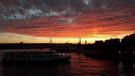 İstanbul'da gün batımı büyüledi