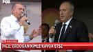 Erdoğan Bana bak Muharrem dedi, İnce'nin cevabı sosyal medyayı salladı