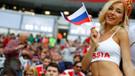 Dünya Kupası'nın ilk maçından tribün manzaraları