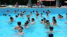 Antalya'da bayramda havuzlar doldu
