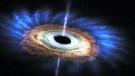 Devasa kara deliğin yıldızı parçaladığı inanılmaz görüntüler