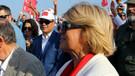 Tansu Çiller AK Parti mitinginde: Milli şuurla buradayım