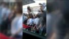 Gaziantep'te CHP'lilerin TRT aracına saldırdığı anlar kamerada