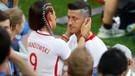 Moralsiz Lewandowski'yi eşi Anna teselli etti