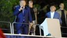 Erdoğan Huber Köşkü önündeki AK Partililere seslendi