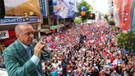 Recep Tayyip Erdoğan miting yaptığı 33 şehrin 28'inde ipi göğüsledi