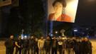 TRT kavşağına Akşener posteri astılar