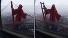 Azrail Golden Gate nöbetinde!