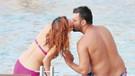 Salih Bademci ve eşi İmer Özgün aşk tatilinde