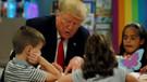 Trump bir skandala daha imza attı! Amerikan bayrağını yanlış boyadı