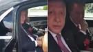 Erdoğan gurbetçi küçük kızı görünce aracını durdurdu