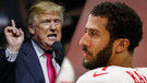 Trump'tan Nike ve Amerikan Futbol Ligine eleştiri