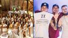 Neymar Melo ve Medina'dan olay yılbaşı paylaşımı! 26 kadınla birlikte...