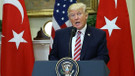 Trump'tan tehdit: Kürtleri vurursa Türkiye'yi ekonomik açıdan mahvederiz