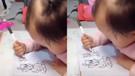 Minik kız, şaşırtıcı yeteneğiyle Çin'de viral oldu