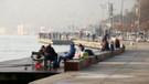 Güneşli havayı fırsat bilen İstanbullular sahillere koştu