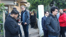 İlçe yönetimi CHP'li başkan adayı ve partilileri sokakta bıraktı