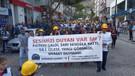 Madenciler hakları için Soma'dan Ankara'ya yürüyor