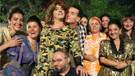 Ahmet Kural Baba Parası filmi için kadın kılığında
