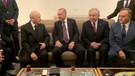 Meclis'te sürpriz zirve: Erdoğan ve Bahçeli buluştu