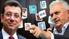 Belediye başkanı adaylarının sosyal medyadaki etkileşimleri belli oldu