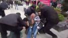 Emniyetten kadın eylemciye taciz iddiasına polis kamerasıyla yanıt