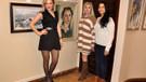 Ünlü ressam Nilüfer Nil Bozan Sanat Aşkı'yla sergisinde