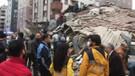 İşte Kartal'daki 8 katlı binanın çökme anı