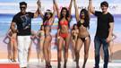 Hintli fitness modelleri Goa'da hünerlerini sergiledi