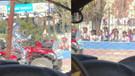 Robot manken ilkokul önünde çocuklara AKP sloganı attırdı