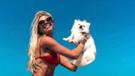 Ünlü model Caroline Bittencourt denize düşen köpeklerini kurtarmak isterken hayatını kaybetti