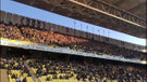 Fenerbahçe stadı Her şey çok güzel olacak sloganlarıyla inledi
