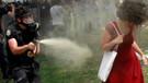 AYM'den Gezi'deki Kırmızılı kadın için flaş karar