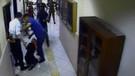 Ağrı'da icra müdürünün kadını dövme anı kamerada