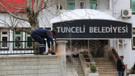 Tunceli Belediyesi'nin tabelası Dersim olarak değişiyor
