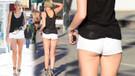 Popoyu açıkta bırakan mini şort trendi ünlü modacıları birbirine düşürdü
