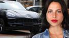Zehra Çilingiroğlu yeni otomobiliyle gülücük saçtı