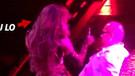 Jennifer Lopez erkek hayranına kucak dansı yaptı