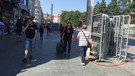 Polisten Taksim Meydanı'na bariyer yığınağı