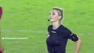 Futbolcu trolleyen Brezilyalı hakem Fernanda Colombo sosyal medyayı salladı