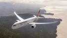 THY'nin Rüya uçağının penceresi sıcaktan eridi!