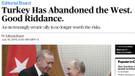 Bloomberg: Türkiye Batı'yı terk etti, gitti de kurtulduk