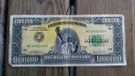 Uşak'ta 1 milyon dolarlık banknot ele geçirildi