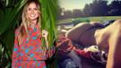 Heidi Klum düğünü için bronzlaşıyor