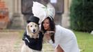 220 ilişkide mutluluğu bulamayan eski model, köpeğiyle evleniyor