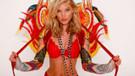 Victoria's Secret meleği Elsa Hosk İstanbul'da çıplak poz verdi