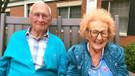 Mutluluğu geç buldular: Gelin 102, damat 100 yaşında