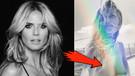 Heidi Klum'un üstsüz paylaşımında göğüsleri gözüktü!