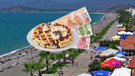 Ölüdeniz'de waffle soygunu! Tanesini 80 TL'ye sattı