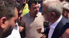 Görevden alınan Mardin Büyükşehir Belediye Başkanı Ahmet Türk, polisle tartıştı